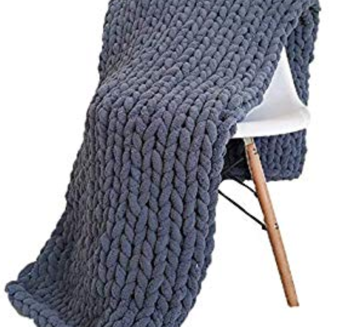 Comfy Hand Knitted Throw Blanket Workshop